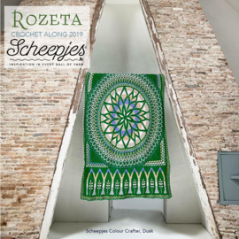 Scheepjes CAL 2019 Rozeta Colour Crafter - Dusk