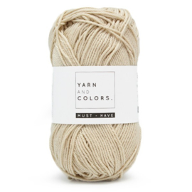 YARN AND COLORS MUST-HAVE 003 ECRU