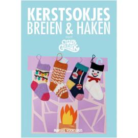 Kerstsokjes Breien en Haken - Marieke Voorsluis