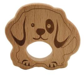 Houten Bijtring - Hond II