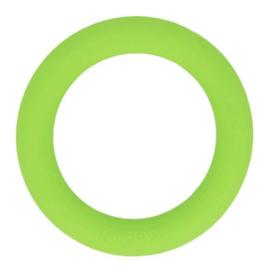 Siliconen Bijtring Rond 55mm - Appel Groen