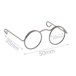 Bril voor Knuffels Oud Nikkel 5cm
