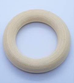 Houten Bijtring - Rond 6,7cm