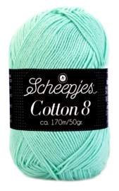 Scheepjes Cotton 8 nr 663 Ice Mint