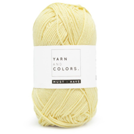 YARN AND COLORS MUST-HAVE 010 VANILLA