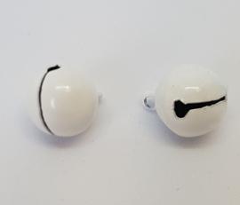 13mm Witte Belletjes per 10 stuks