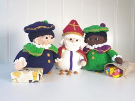 Garenpakket Pop-up Zwarte Piet of Roetveeg Piet