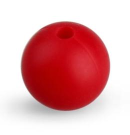 Rode Silicone Kraal Kralen 12mm (5 Stuks)