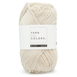 YARN AND COLORS MUST-HAVE 002 NATURAL