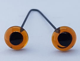 Glazen Amigurumi & Beren Ogen 8mm (2 stuks)