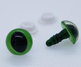 Groene Kattenogen 12mm