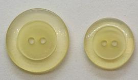 Gele Creme Kleurige Knopen 18 & 23mm