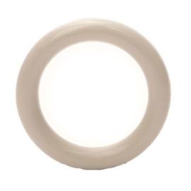 Plastic ringetjes - 40 mm - Beige 016