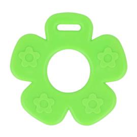 Bijtring - Bloem met noppen - Groen