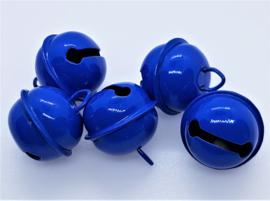 20mm Donker Blauwe Belletjes (5 stuks)
