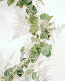 Eucalyptus kerstkrans maken