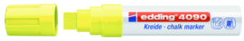 Krijtstift neon geel 4-15 mm