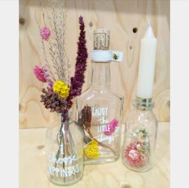 Droogbloemen arrangement maken vrijdag 27 maart