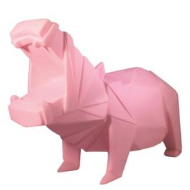 Origami lamp Nijlpaard