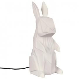 Origami lamp Konijn wit