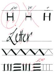 Kalligrafie pen los