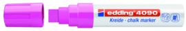 Krijtstift neon roze 4-15 mm