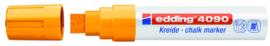 Krijtstift neon oranje 4-15 mm