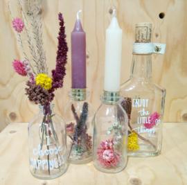 Droogbloemen arrangement maken zondag 29 maart