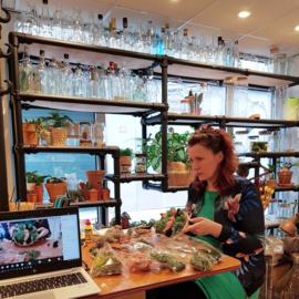 Online Workshop Moswandjes maken