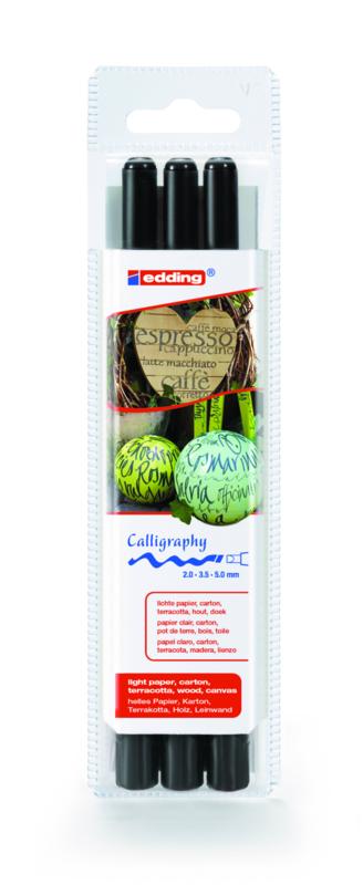 Kalligrafie pennen set