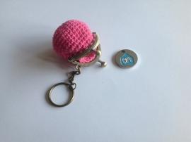 Handig portemonneetje met sleutelhanger