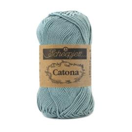 Catona katoen silver bleu 528