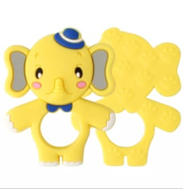 Siliconen bijtring olifant