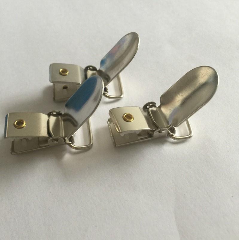 Speenclips van metaal 1.5 cm  per 3 stuks