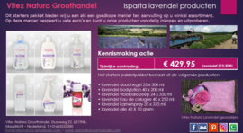 Isparta lavendelproduct kennismaking pakket
