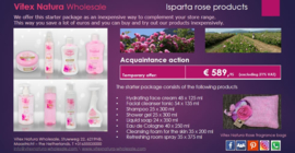 Isparta rose products introductory package