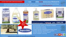 Eko reinigungs Produktepaket