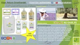Lavendel bio olijfolie producten