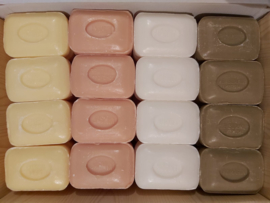 Marseille soaps naturally colored 4 x 12 100g