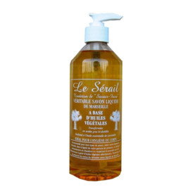 Natural Marseille liquid soap 15x500ml non perfumed