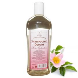 Marseille shower & shampoo Roses 12x500ml