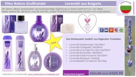 Bulgarische Lavendel Produktepaket Man