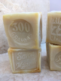 Marseille soap pieces white/neutral 15 x 300g