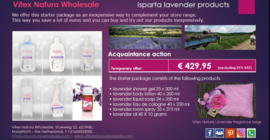 Isparta lavander products introductory package