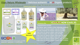 Lavender organic olive oil products