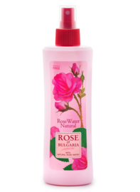 Bulgarian rose water organic 48 x 230 ml