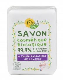 Bio-Lavendel-Seife mit ätherischen Ölen 12x100 g