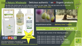 Organic olive oil products