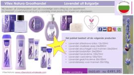 Bulgaars lavendelproduct kennismaking pakket man