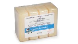 Marseille Soap Jasmin Karité 60x100g